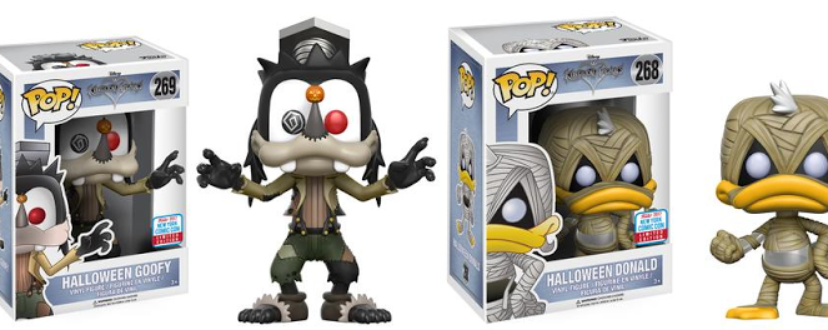 kingdom hearts halloween town donald and goofy funko pop vinyl figures announced as nycc 2017 exclusives kingdom hearts news kh13com kh13com