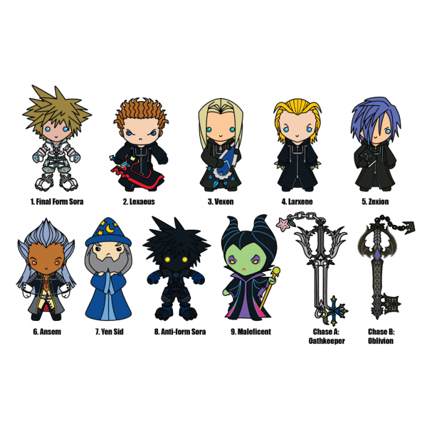 Monogram Direct To Release Series 2 Of Kingdom Hearts 3d