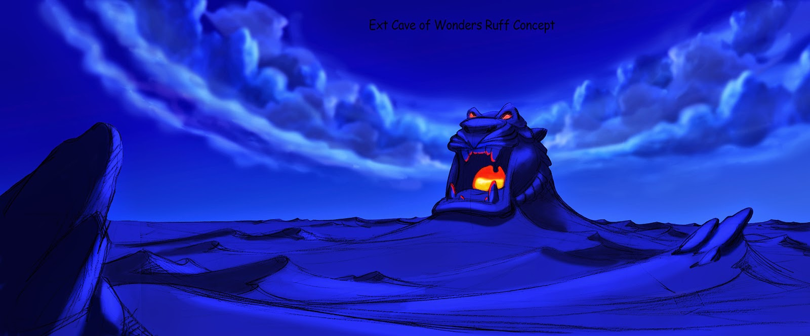 21 - Aladdin (Cancelled Kingdom Hearts game concept art) - Kingdom Hearts Gallery ...