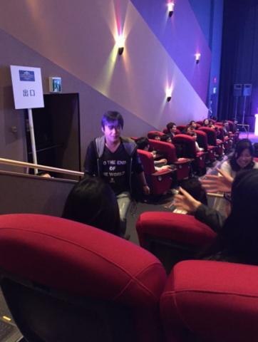 Tetsuya Nomura with fans