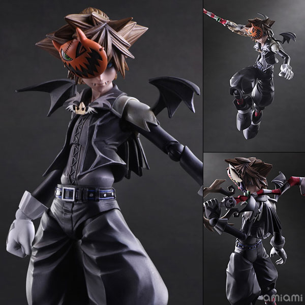 Play Arts Kai Kingdom Hearts Ii Halloween Town Sora: Kh2 Ht Sora Play Arts Kai