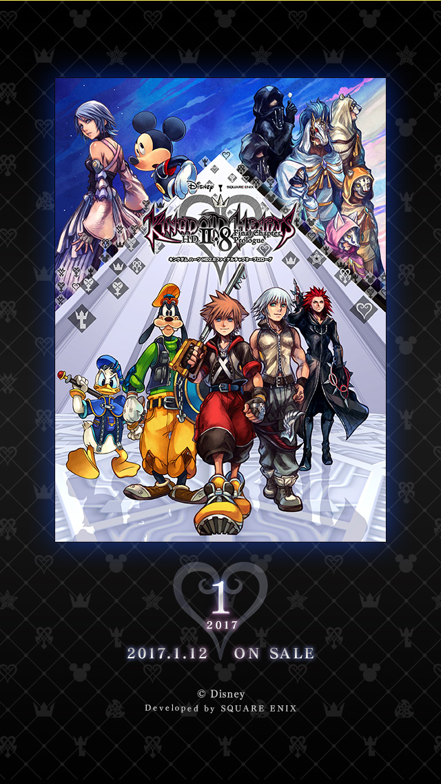 IPhone 640x1136 Official Wallpapers KH13 For Kingdom Hearts