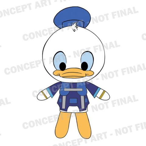 KingdomHearts Donald Plush Watermarked large