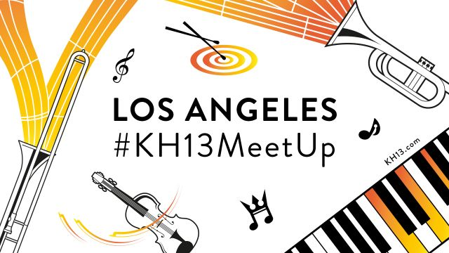 #KH13MeetUp for Los Angeles Concerts!