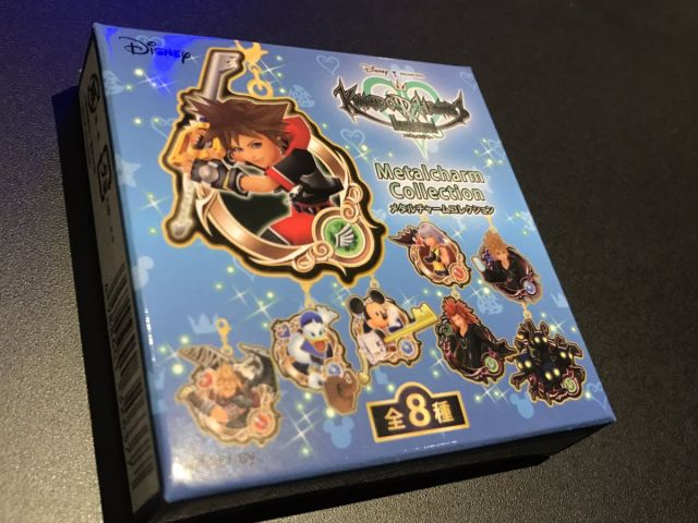 Kingdom Hearts Unchained χ[chi] medal key ring box at Square Enix Cafe 1