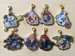 Kingdom Hearts Unchained χ[chi] medal Key rings