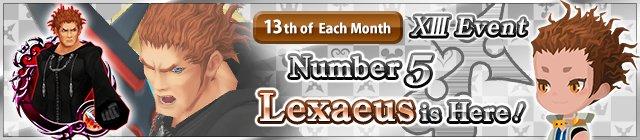 Lexaeus XIII Event