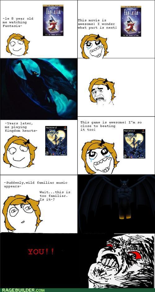 rage comics childhood fears