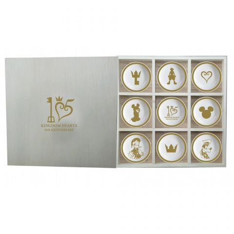 Kingdom Hearts 15th Anniversary plates