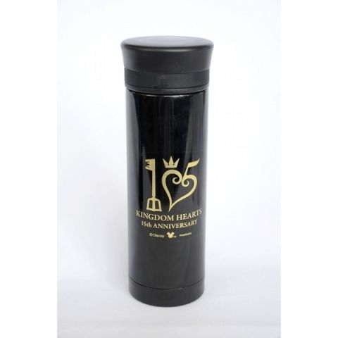 Kingdom Hearts 15th Anniversary stainless steel bottle 1