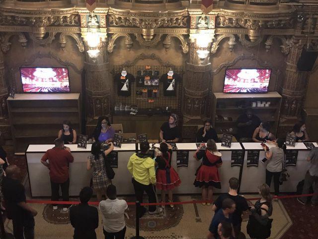 KH Concert New York kiosk