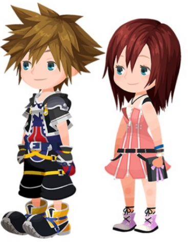 KHUX 2nd Anniversary - Sora+Kairi Avatars