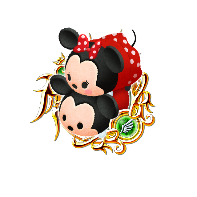 Tsum Tsum Medal - Mickey and Minnie