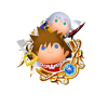 Tsum Tsum Medal - Sora and Riku