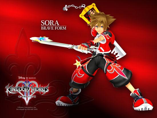 KH2 Sora Valor Form Wallpaper - Wallpapers - Kingdom Hearts ...