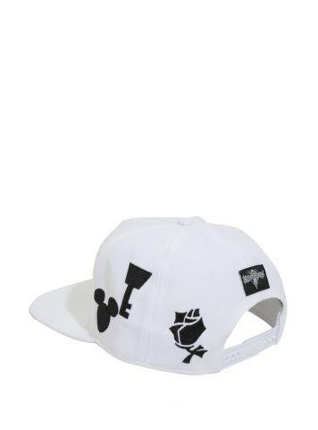 Kingdom Hearts embroidered snapback hat 4
