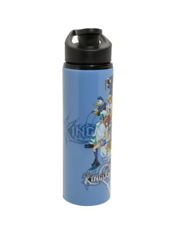 Kingdom Hearts steel water bottle 3