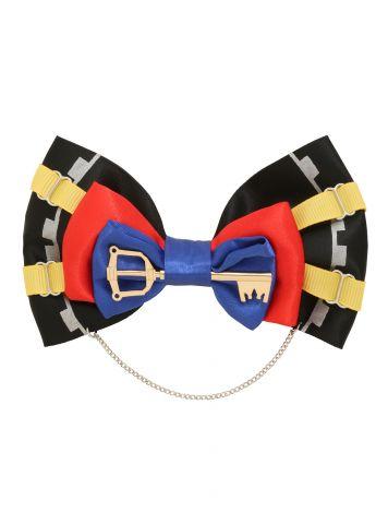 Loungefly Kingdom Hearts Sora cosplay hair bow 2