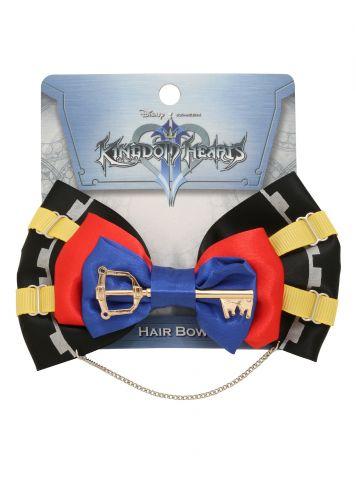 Loungefly Kingdom Hearts Sora cosplay hair bow 1