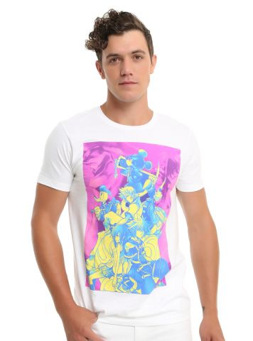 Kingdom Hearts Neon Group t-shirt 2
