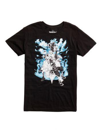 Kingdom Hearts Characters t-shirt 1