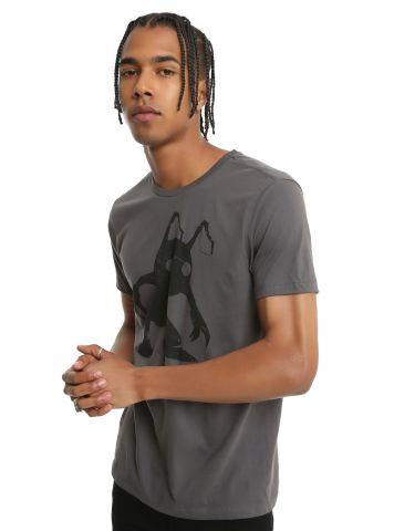 Kingdom Hearts Shadow t-shirt 2