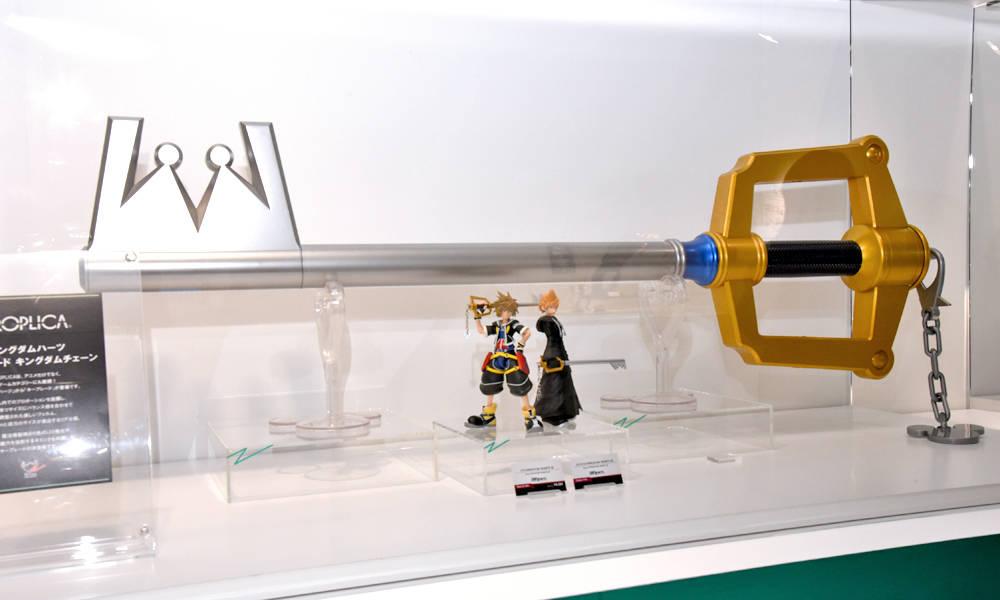 Kingdom Key Keyblade PROPLICA at Tamashii Nation 2017