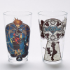 Kingdom Hearts 16 Oz. Sora And Mickey Pint Glass 2 Pack 1