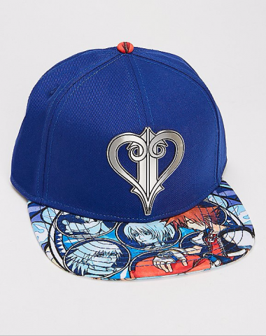 Kingdom Hears II Logo Snapback hat 1