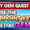 weekly Gem quest feb12