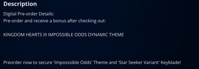 PSN Pre-Order Themes