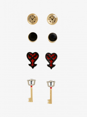 KH Stud Earring Set
