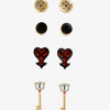 KH Stud Earring Set
