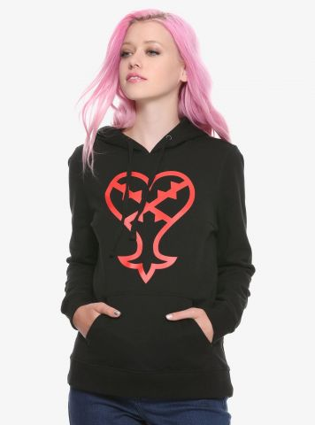 Hot Topic Heartless Hoodie Front