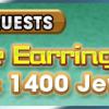 VIP pineapple earrings