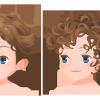 loose slick black elegant curls hairstyles