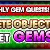 monthly Gem quest october