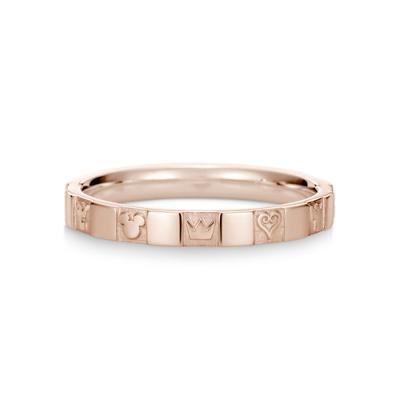 Monogram Ring Single K18 Pink Gold