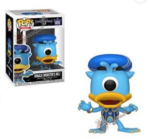 Donald Monsters Inc Pop