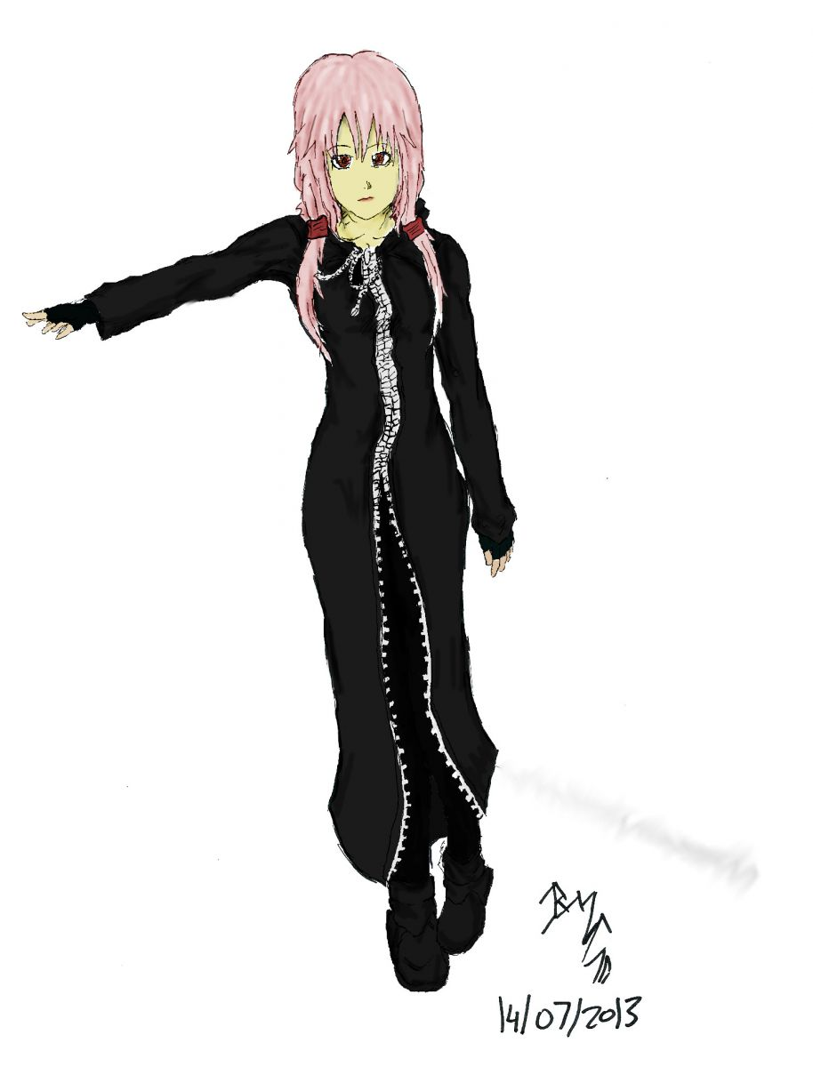 Organisation Cloak Part 10: Inori from Guilty Crown: Colour
