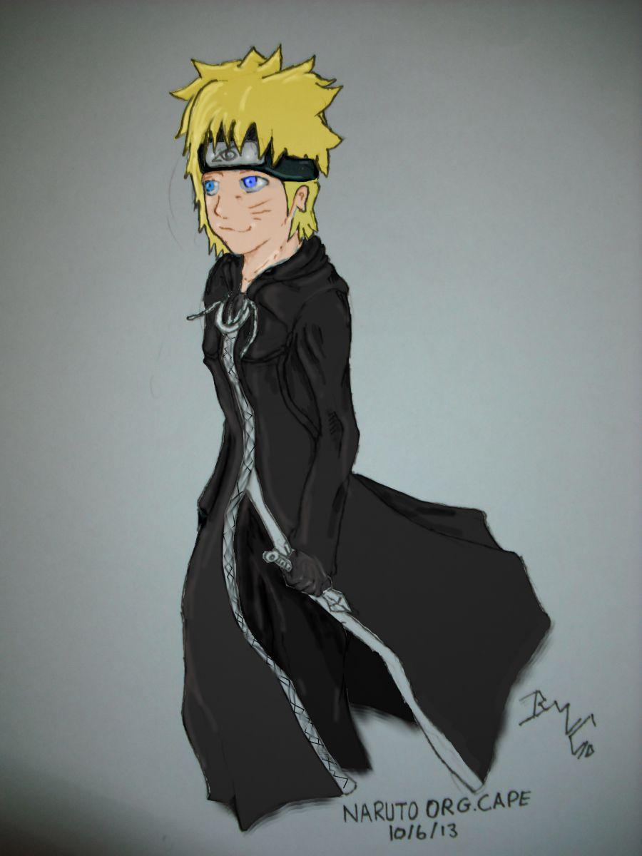 Organisation cloak: Part 4: Naruto (colour)