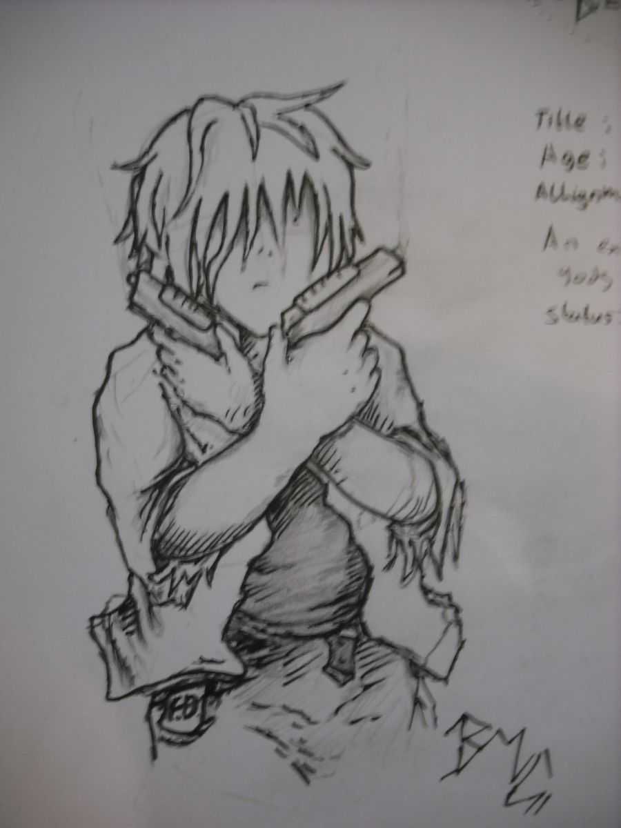 Character from a manga i'm writing
