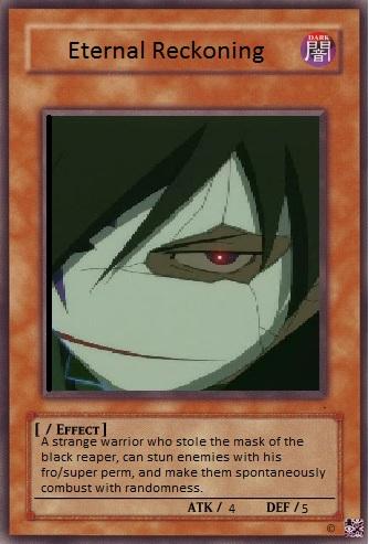 Eternal reckoning card