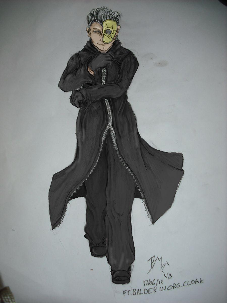 Organisation Cloak: Part 6: Father Balder org cloak, (colour)
