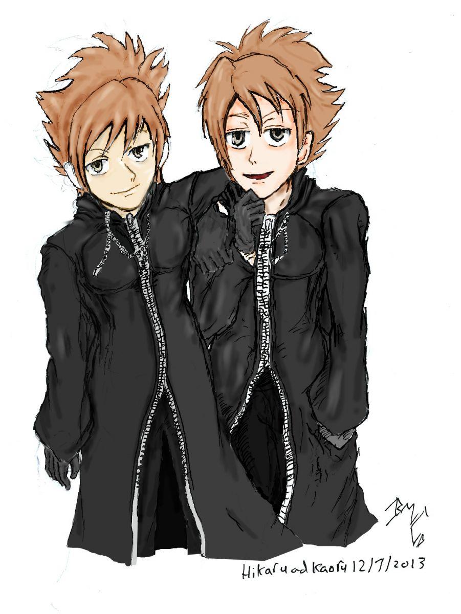 Organisation Cloak: Part 7: Hikaru and kaoru: coloured