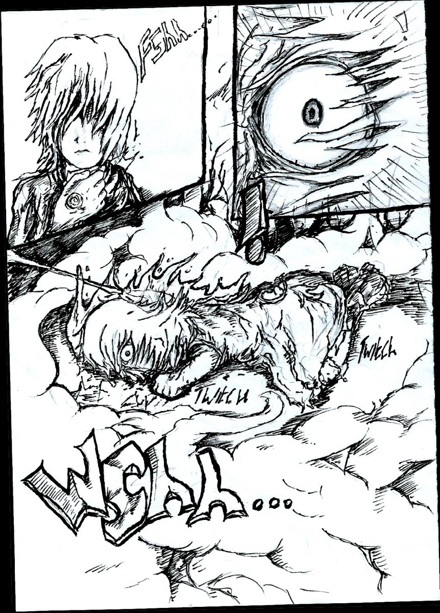 Another example page for the manga i'm writing, hope you like it.