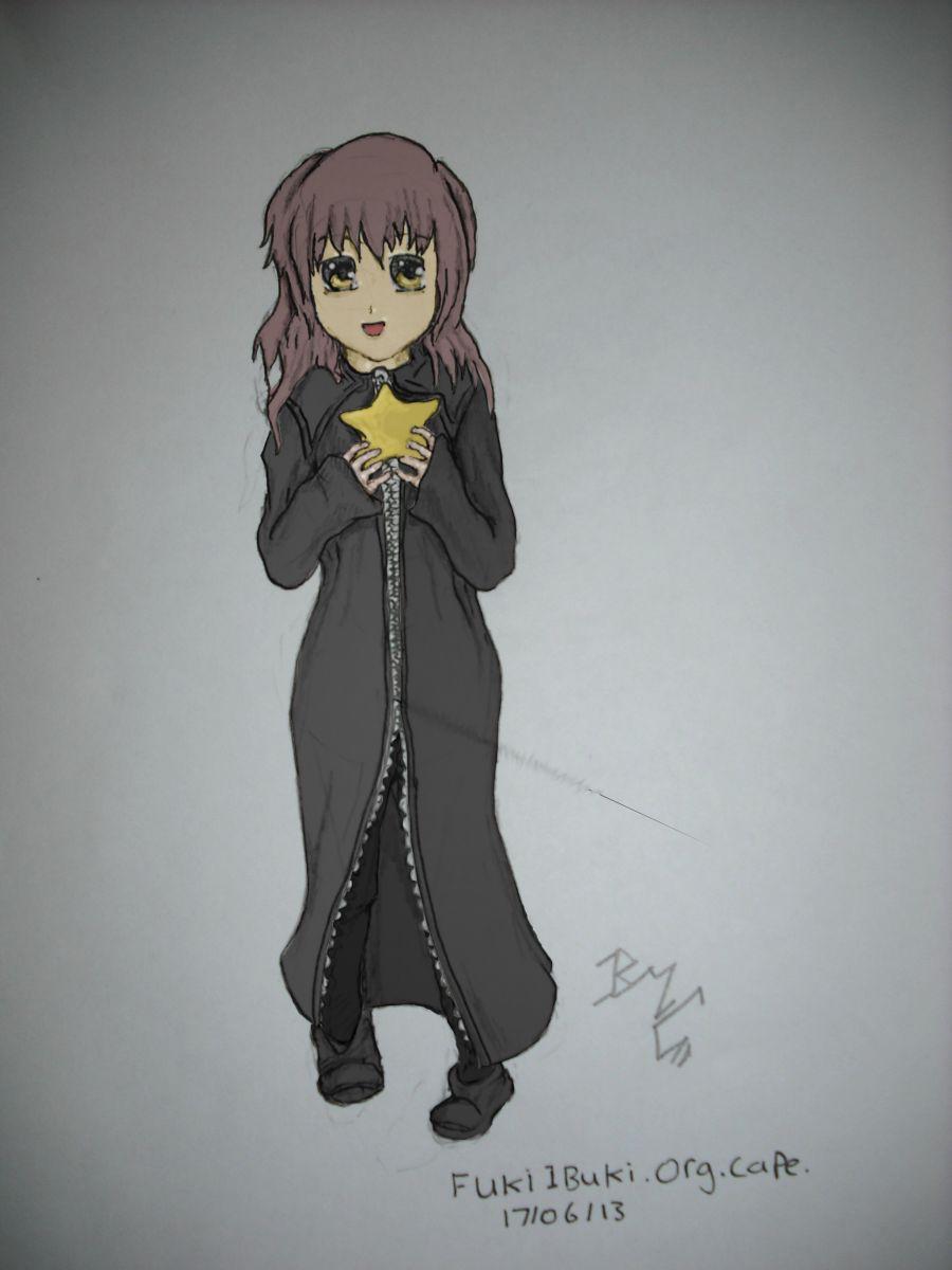 Organisation Cloak: Part 5: Fuko Ibuki in org cape (Colour)