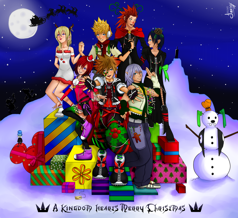 A Kingdom Hearts Merry Christmas! - Drawings - Kingdom Hearts ...