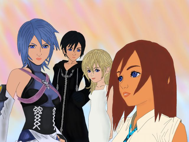 Kingdom hearts girls 4 Kingdom hearts 3