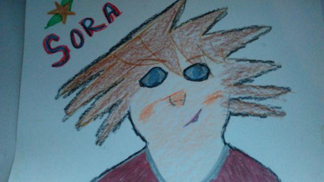 ( My drawing version of Sora )